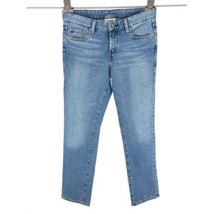 Levis Womens 552 Mid Rise Straight Jeans Sz 27